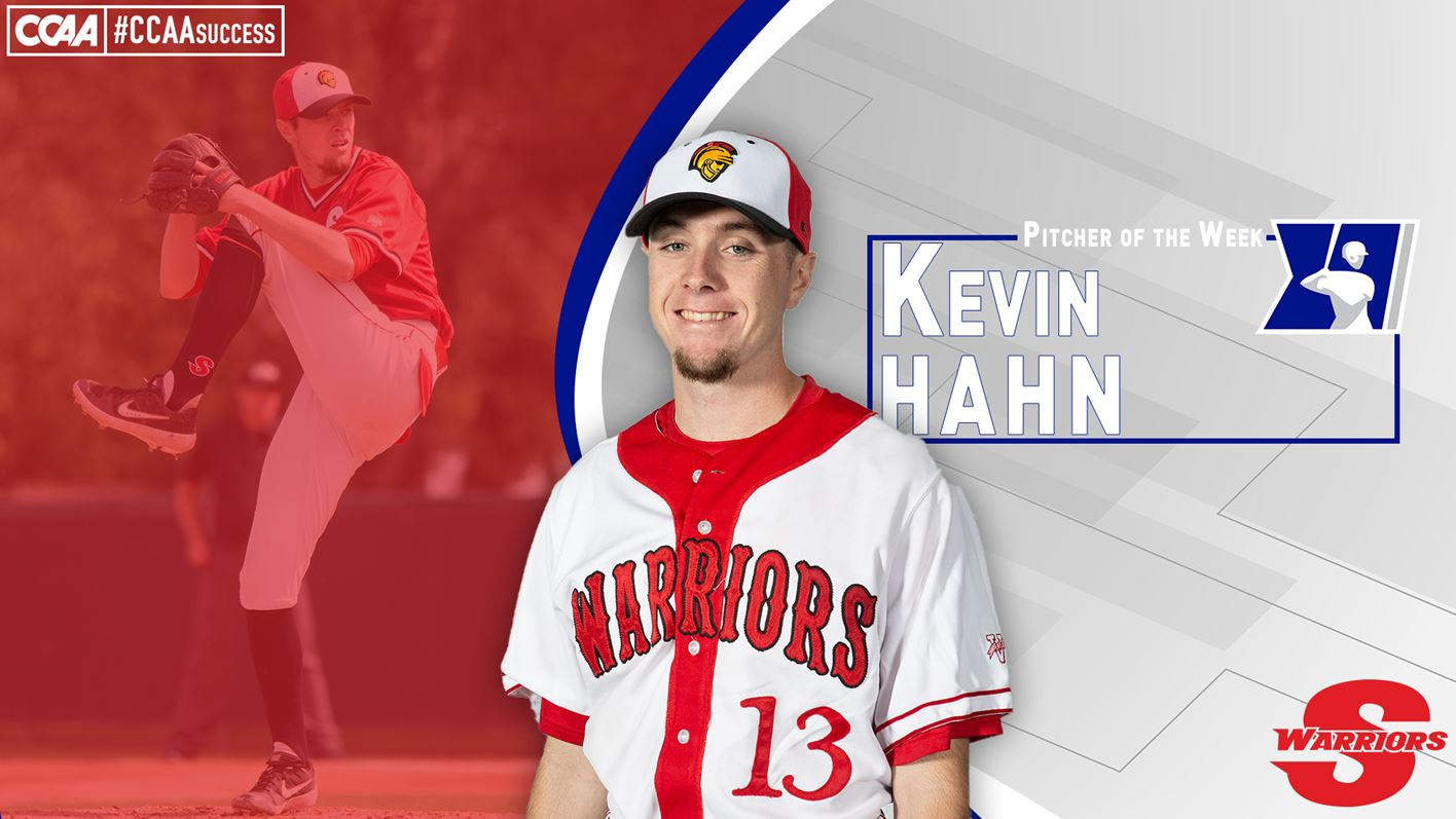 Hahn earns CCAA Pitcher of the Week honor - Stanislaus State